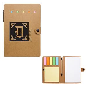 #1351 Large Snap Notebook With Desk Essentials