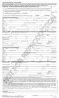 Credit Application Form (Ohio) (502A)