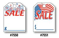 Mirror Hang Tags (SALE: Fireworks or Flag)
