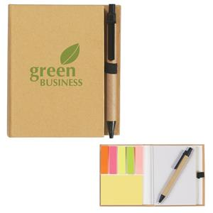 #1349 Eco-Inspired Notebook With Pen